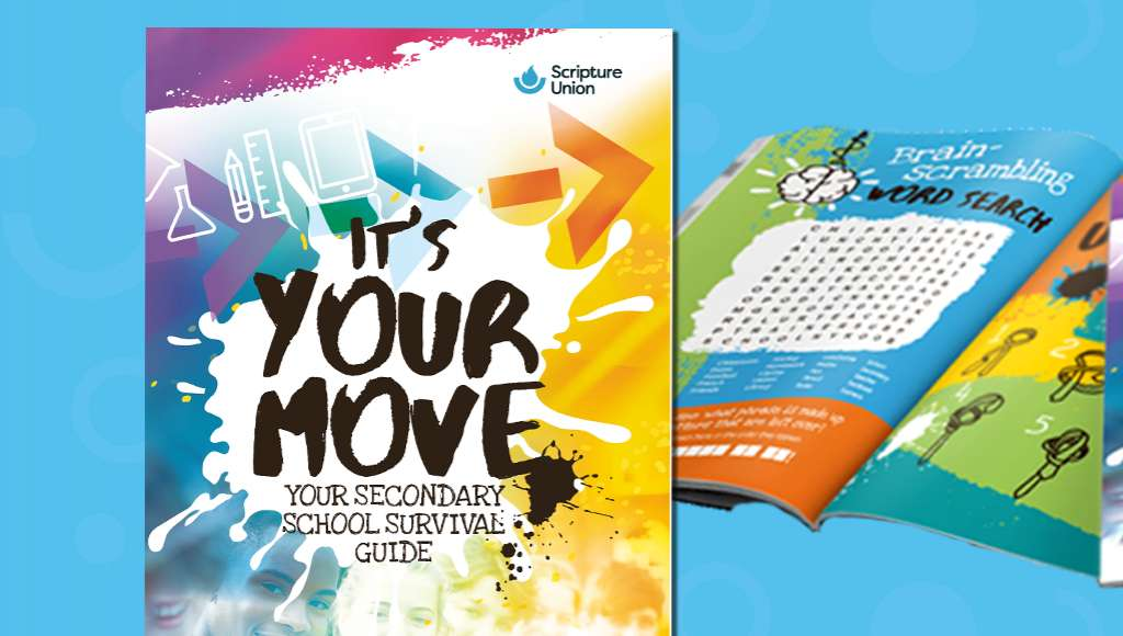 It's your move book cover and open pages