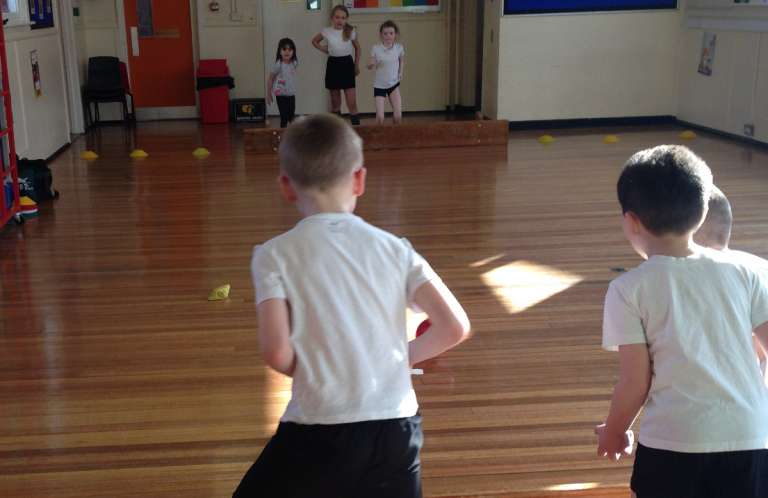 An after schools sports club