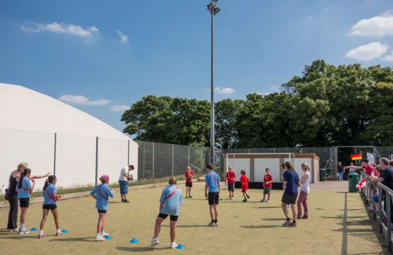 Higher sports holiday club
