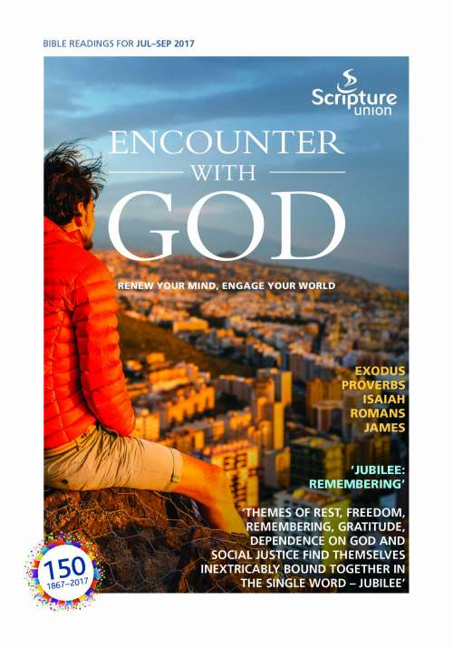 Encounter with God July-September 2017 sample page