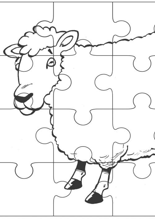 Quest II sheep puzzle