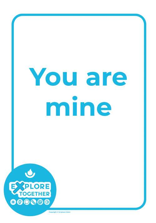 Explore Together: You are mine main