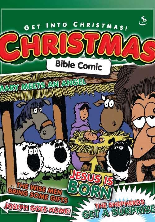 Christmas Comics.Christmas Bible Comic