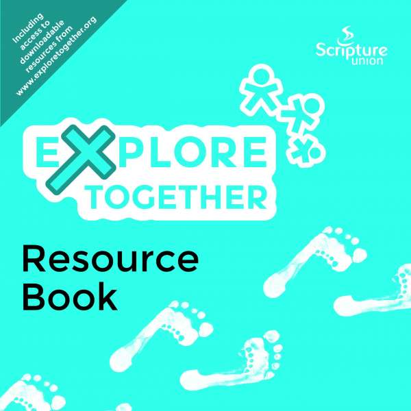 Explore Together Blue Resource Book cover