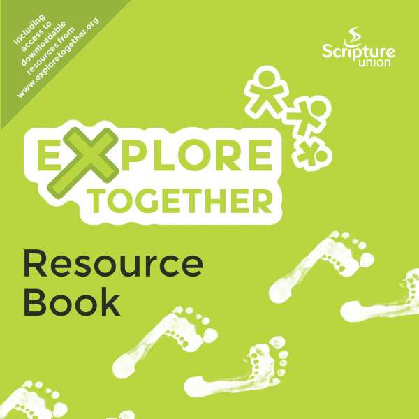 Explore Together Green Resource Book cover