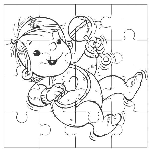 Quest II baby puzzle