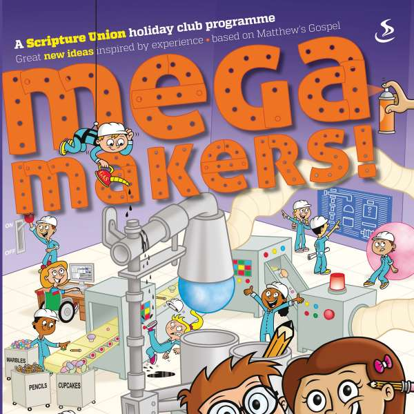 Mega Makers cover