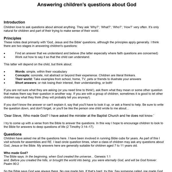 answering-childrens-questions-about-god