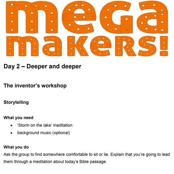 Mega Makers! 11 to 14s: Day 2