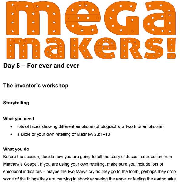 Mega Makers! 11 to 14s: Day 5