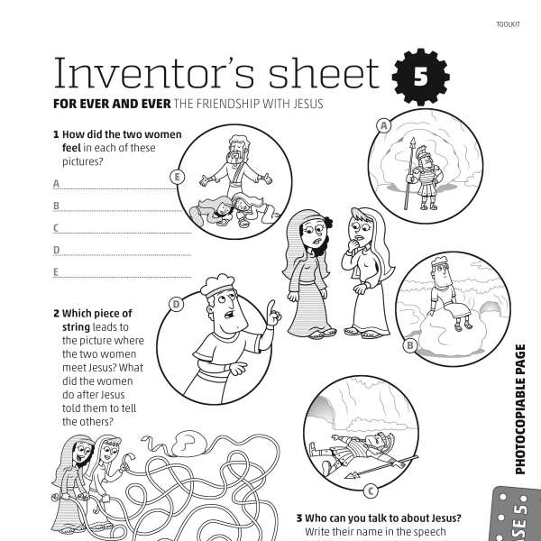 Mega Makers! Inventor's sheet 5