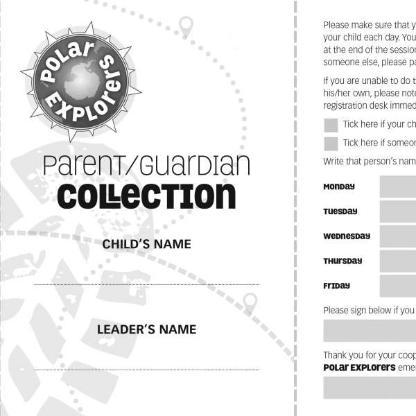 Polar Explorers collection form