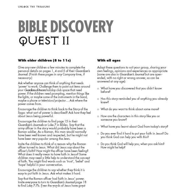 Guardians of Ancora Bible discovery Quest 2