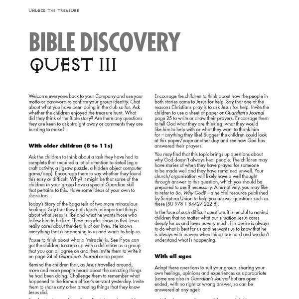 Guardians of Ancora Bible discovery Quest 3
