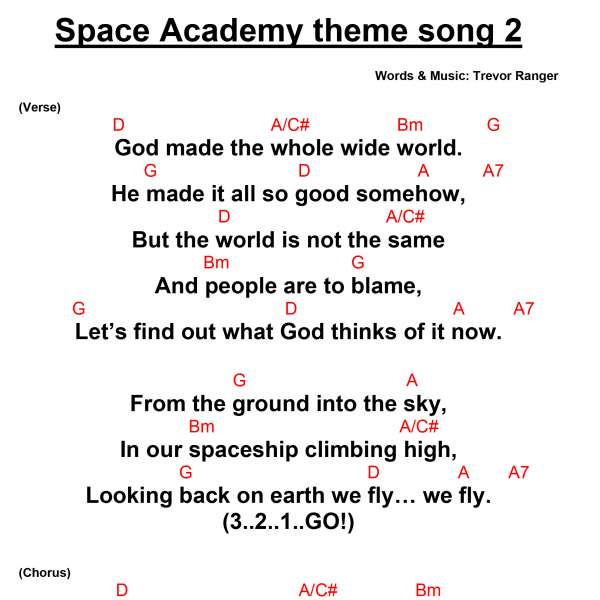 space-academy-theme-song-chords