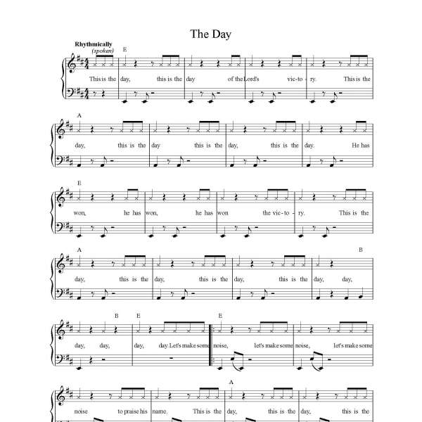 the-day-sheet-music-image