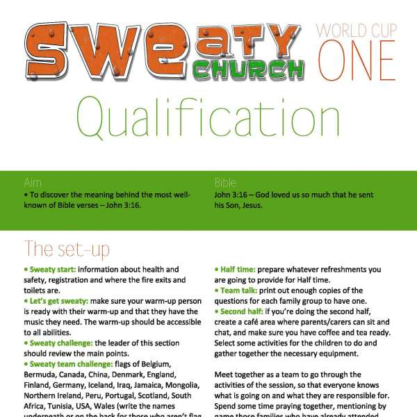 Sweaty Church Qualification