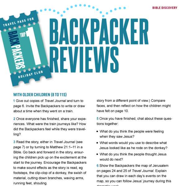 Backpacker reviews