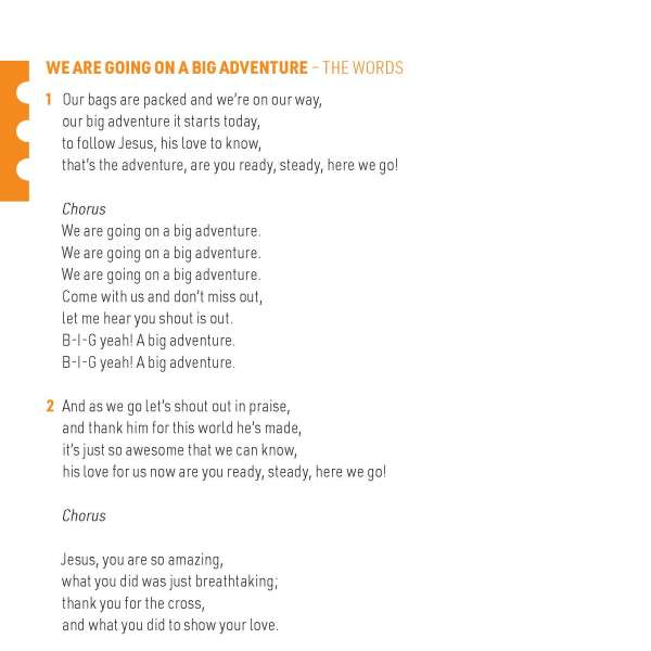 Big Adventure lyrics