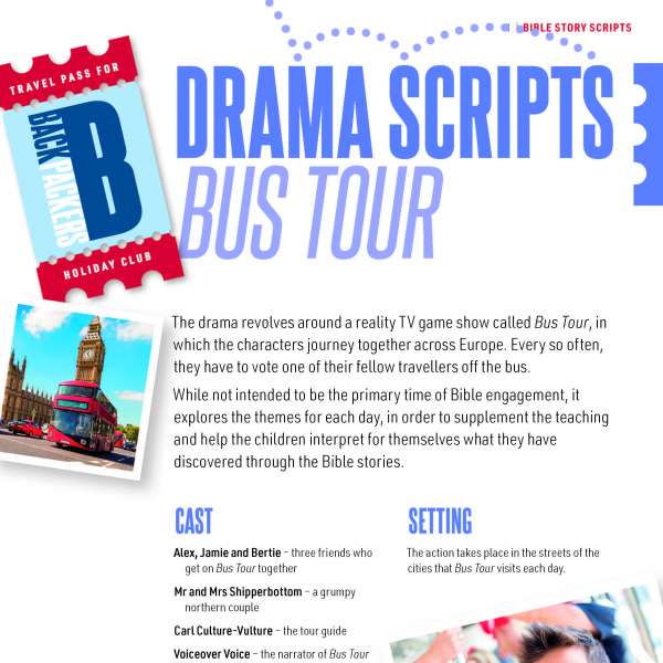 Drama scripts: Bus Tour