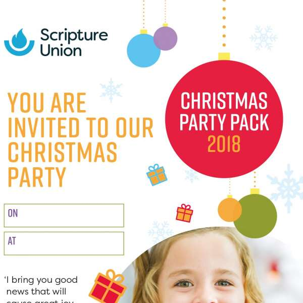 Christmas party poster and invitations