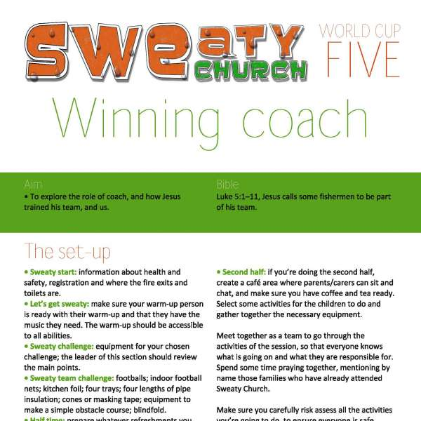 Sweaty Church: Winning