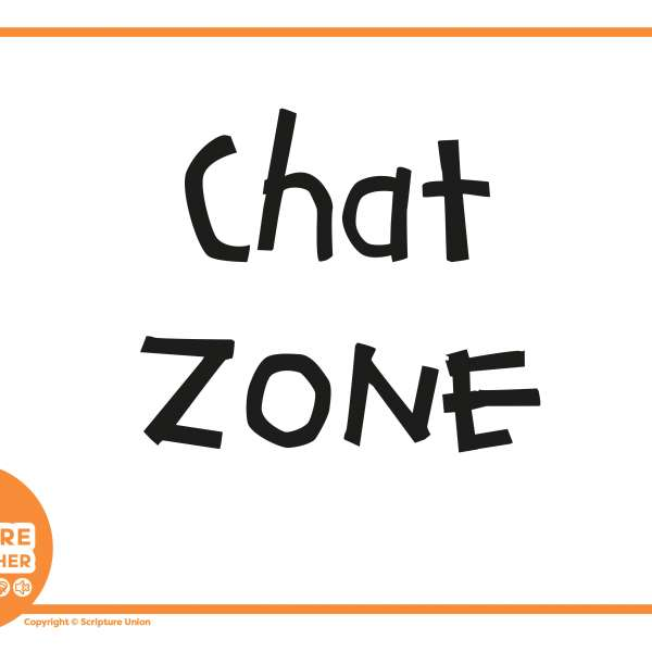 Explore Together orange zone signs