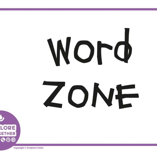 Explore Together purple zone signs