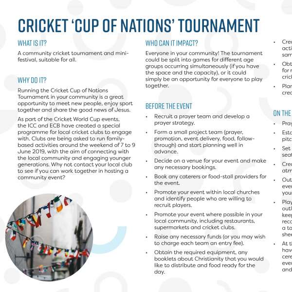 Cricket Cup of Nations tournament
