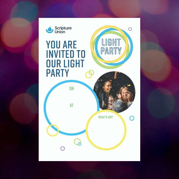 Light Party Poster - Youth
