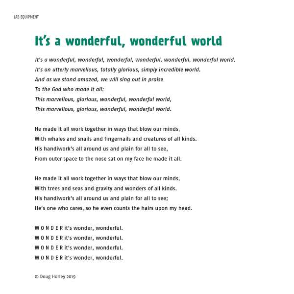 Words of the Wonder Zone Theme Song