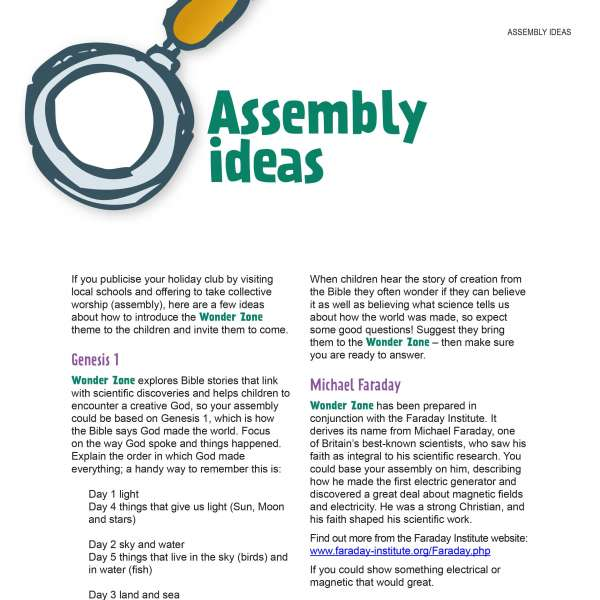 Assembly ideas