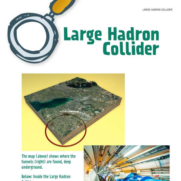 Photos of Large Hadron Collider