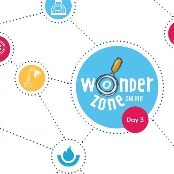 Wonder Zone Online! Session 3: The colours of the rainbow