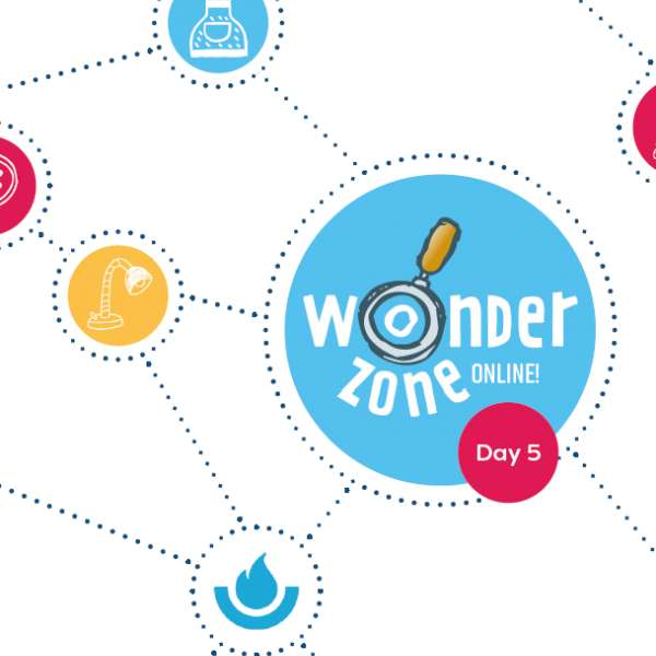 Wonder Zone Online! Session 5: The possibilities of robots cover